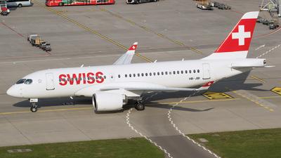 HB-JBI - Airbus A220-100 - Swiss