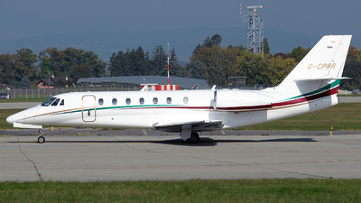 G-CPRR - Cessna 680 Citation Sovereign - Private