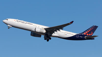 OO-SFE - Airbus A330-343 - Brussels Airlines