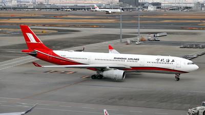 B-6097 - Airbus A330-343 - Shanghai Airlines