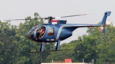 PK-IWB - Hughes 369E (500E) - Intan Perkasa Air Service