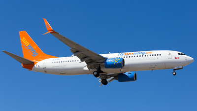 C-FJVE - Boeing 737-8DC - Sunwing Airlines