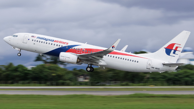9M-MXK - Boeing 737-8H6 - Malaysia Airlines