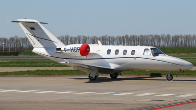F-HCPB - Cessna 525 CitationJet 1 - Private