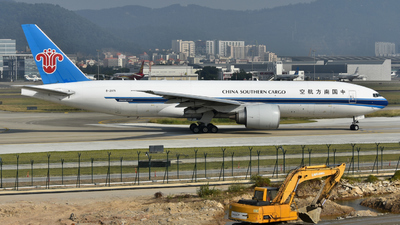 A picture of B2071 - Boeing 777F1B - China Southern Airlines - © genius4713
