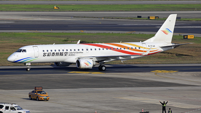 A picture of B3320 - Embraer E190LR - Colorful GuiZhou Airlines - © oneworld_Wang