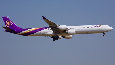 HS-TND - Airbus A340-642 - Thai Airways International