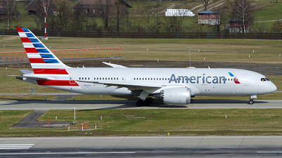 A picture of N803AL - Boeing 7878 Dreamliner - American Airlines - © OSDU
