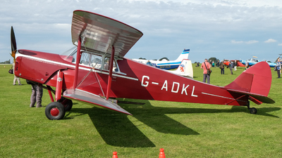 G-ADKL - De Havilland DH-87B Hornet Moth - Private