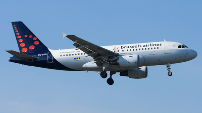 A picture of OOSSB - Airbus A319111 - Brussels Airlines - © Luca Cesati