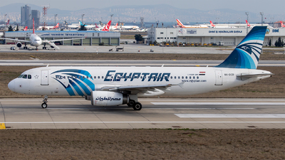 SU-GCD - Airbus A320-232 - EgyptAir