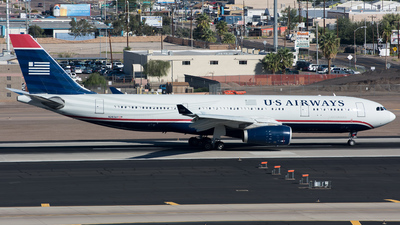 N283AY - Airbus A330-243 - US Airways