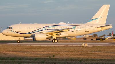 LX-LIZ - Airbus A319-115X(CJ) - Global Jet Luxembourg