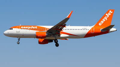 A picture of GEZRT - Airbus A320214 - easyJet - © Luciano Silva