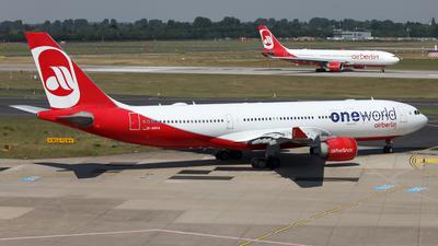 D-ABXA - Airbus A330-223 - Air Berlin