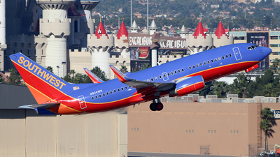 N934WN - Boeing 737-7H4 - Southwest Airlines