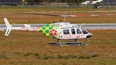 ZS-RAC - Bell 206L-4 LongRanger - South Africa - Department of Health