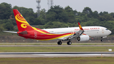 A picture of B7399 - Boeing 73784P - Hainan Airlines - © Eric Wang