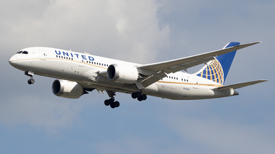A picture of N28912 - Boeing 7878 Dreamliner - United Airlines - © Andrew Mauro