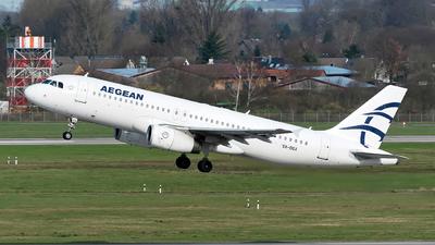 A picture of SXDGX - Airbus A320232 - Aegean Airlines - © Sebastian Thiel