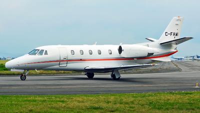 C-FAMI - Cessna 560XL Citation Excel - Private