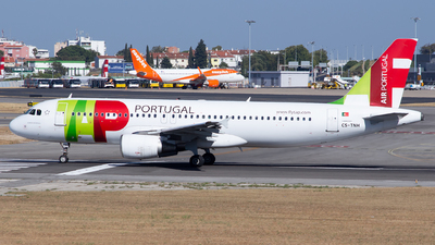 A picture of CSTNH - Airbus A320214 - TAP Air Portugal - © Baptiste Prevost