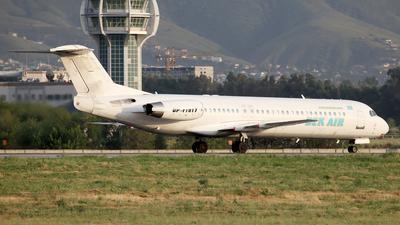 UP-F1017 - Fokker 100 - Bek Air