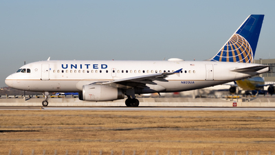 A picture of N822UA - Airbus A319131 - United Airlines - © AtxMatt Spotting