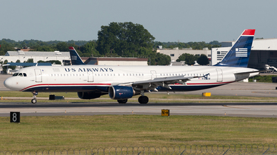 N182UW - Airbus A321-211 - US Airways