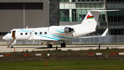 558 - Gulfstream G-IV - Oman - Royal Air Force