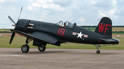 F-AZYS - Chance Vought F4U-5NL Corsair - Private
