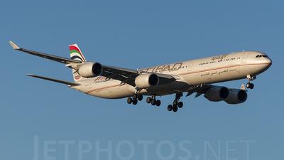 A6-EHF - Airbus A340-642X - Etihad Airways