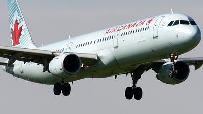 C-GJWN - Airbus A321-211 - Air Canada