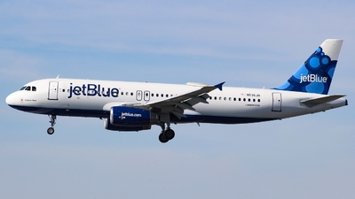 N536JB - Airbus A320-232 - jetBlue Airways