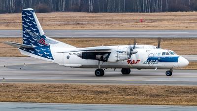 YL-RAD - Antonov An-26B - Raf-Avia Airlines