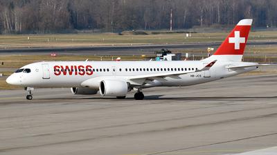 HB-JCS - Airbus A220-371 - Swiss