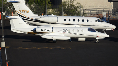 N50AK - Gates Learjet 35A - Private