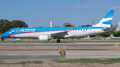 LV-CET - Embraer 190-100IGW - Aerolíneas Argentinas