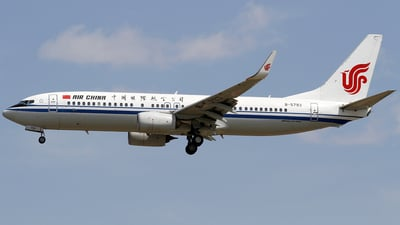 B-5793 - Boeing 737-89L - Air China