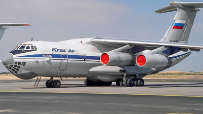 RA-76465 - Ilyushin IL-76TD - Kras Air - Krasnoyarsk Airlines