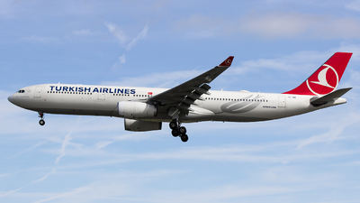 TC-JNR - Airbus A330-343 - Turkish Airlines