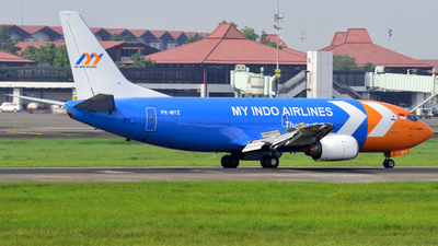 PK-MYZ - Boeing 737-3Z0(SF) - My Indo Airlines