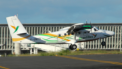 F-OMYS - Viking DHC-6-400 Twin Otter - Air Antilles Express
