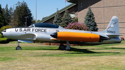 53-5943 - Lockheed T-33A Shooting Star - United States - US Air Force (USAF)