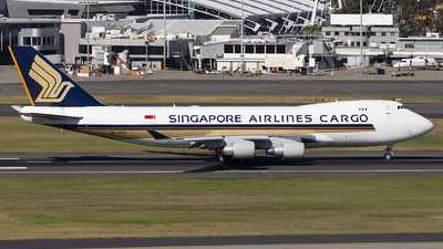 A picture of 9VSFN - Boeing 747412F(SCD) - Singapore Airlines - © MQ1131