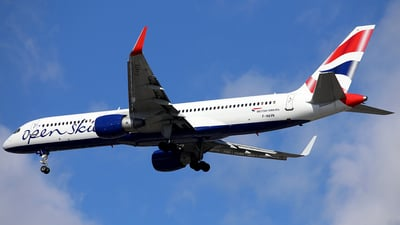 F-HAVN - Boeing 757-230 - Open Skies (British Airways)