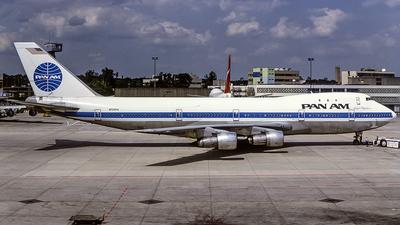 N725PA - Boeing 747-132 - Pan Am