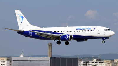 YR-BAU - Boeing 737-4Y0 - Blue Air