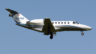 OE-FAF - Cessna 525 Citation CJ2 - Private