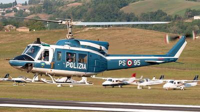 MM81654 - Agusta-Bell AB-212AM - Italy - Polizia di Stato